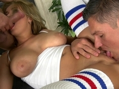 Hottest pornstar Candy Sweet in Crazy Stockings, Facial porn clip