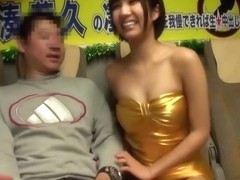 Riku Minato - You Get to Creampie Her If You Can Endure Her Blowjob