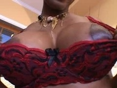 Interracial sex with a black slut with a great bod