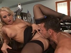 Nina Moonlight secretary dark nylons sex