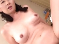 Adoring Asian milf knows to ride a fat stiff cock