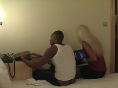 Margo & Aspen & Jocelyn in black guy fucks a hottie in a hotel sex video