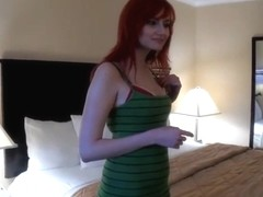 Voodoo invited sexy Phoenix Askani back to the hotel for fuck session