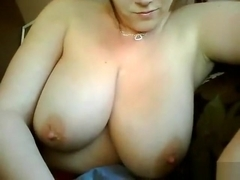 Desiree Devine fuck hard on her big fat boobs
