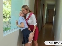 Cute teen girl Staci drilled with mature milf Tanya tate
