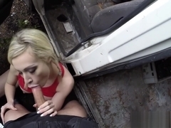 Bigtitted british amateur pussypounded by cop