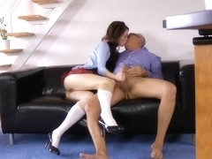 Cocksucking euro fucked after sixtynining