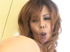 Best Japanese slut Moe Aizawa in Crazy JAV uncensored Dildos/Toys video