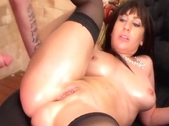 Anny D And Eloa Lombard In French Ass Fucking Scene