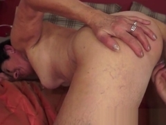 Smalltit granny orally pleasing vagina