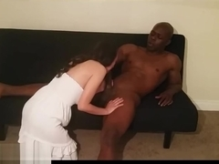 BBC stud gets rimmed by latin milf