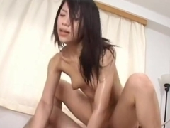Hottie Riku Shiina gets pounded in the ass