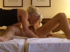 Dream GERMAN MILF fucks lucky guy