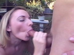 She Goes Down Deep On Her Man Before Her Friend Joins In