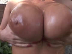 Whitney Stevens titfuck to completion