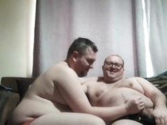 Sexy chubby gay men sticky return