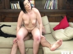 First Time Audition: Stefan Steel & Bbw Anastacias Casting Tape