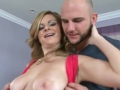 Jmac gets pleasured by busty blonde Keiyra Lina