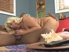 Big booty milf Latina takes on bbc lori suarez