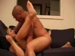 Buxom MILF and her brown lover