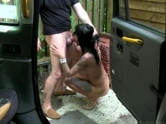 Tattooed assfucked eurobabe facialized