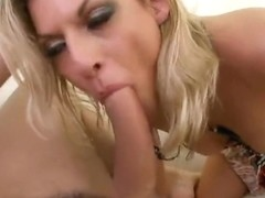Marvelous shaved Czech Klarisa Leone is sucking dick