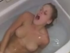 Sister Voyeur Bathtub Masturbation in showers
