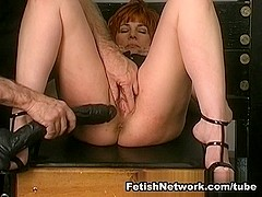 FetishNetwork Video: Nicole Gets Strapped On