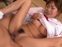 Yuuno Hoshi gets her tight slit filled with cock