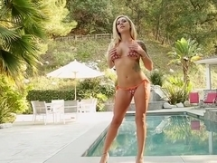 Fabulous pornstar Bonnie Rotten in horny blonde, cunnilingus xxx movie