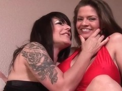 Sexy women, Daisy Rock and June Summers like to eat each others pussy quite often