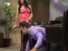 kortney kane in the office