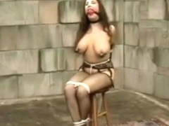 Compilation og Jewells tied tits and tortured nipples