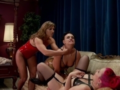 Fabulous gaping, fetish porn video with crazy pornstars Ariel X, Proxy Paige and Roxy Raye from Everythingbutt