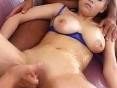 Best Japanese chick Momo Fujimoto in Incredible Lingerie, Cunnilingus JAV movie