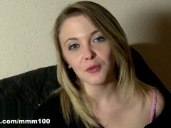 Cristal Bardzo in Sexy Video Interview With Cristal Bardzo  - MMM100
