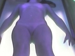 Voyeur undressed beauty in Ostrava solarium FULL visit Part 006