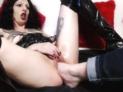 Extreme Slave Slut, Fisting And Foot Fucking - Lucy Ravenblood