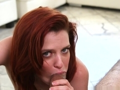 Incredible pornstar Emma Evins in Exotic Redhead, College adult movie