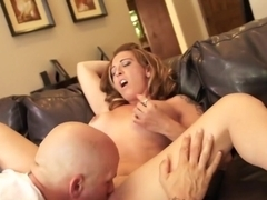 Exotic pornstar Kelly Madison in crazy cumshots, cunnilingus sex scene