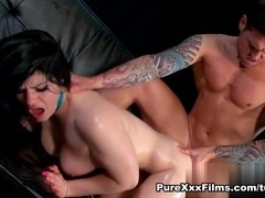 Lucia Love in Oily Ass Rampage Video