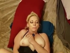 CAN I BE YOUR WHORE CHUBBY MILF MOM GETS FUCKED HAIR PULLING CHOKING POV