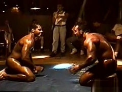 Oil Wrestling Alberto Vs Scorpion