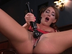 Amazing fetish, squirting xxx movie with incredible pornstar Savannah Fox from Fuckingmachines