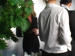 Amazing pornstars Barbara Summer, Sarah Blue and Kia Winston in horny group sex, fetish sex scene