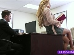Horny blonde ###ary Corinna Blake gets fuck and rides a bigcock