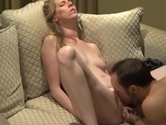 Dude Gets His Couch Destroyed by Pussy Juice by Girl He Met Online