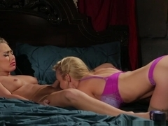 Exotic pornstars Carter Cruise, Kayden Kross in Fabulous Dildos/Toys, Stockings adult scene