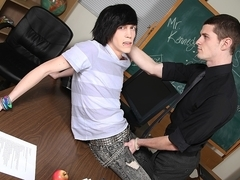 A Hard Uncut Teacher Dick - Nate Kennedy, Tyler Bolt And Brice Carson - ExposedEmos