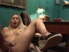 Polina Maxima Is A Sweet Blonde Cock Teaser Who Seems To Like Anal Sex A Lot